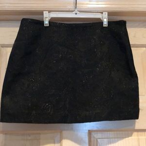 Express Black mini skirt from early 2000's